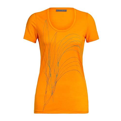 Icebreaker Tech Lite Short Sleeve Scoop Leaf - T-Shirt Femme
