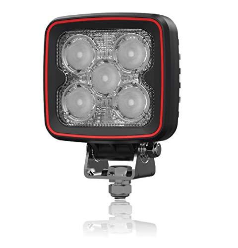 HMH, Weldex LED Arbeitsscheinwerfer, Rückfahrscheinwerfer, eckig, 20W, 60 Grad, 12V, 24V, ECE R10 & ECE R23