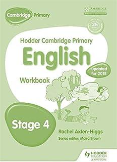 Hodder Cambridge Primary English: Work Book Stage 4