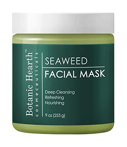 Botanic Hearth Seaweed Facial Mask, Superior Hydrating Face Mask Promotes Healthy Skin, 9 oz