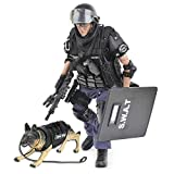 YEIBOBO ! Highly Detail Special Forces 12inch Action Figure SWAT Team - Point-Man and Police Dog