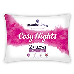 SOFT PILLOW - Designed for front sleepers, helping to support your head and align to your body so you can enjoy a comfortable night's sleep SIZE – Length 48 cm x Width 74 cm (Standard UK Sizing) COSY NIGHTS - Our pillows are made with a soft hollow f...