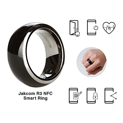 Jakcom R3 NFC Smart Ring Electronics Mobile Phone Accessories compatible with Android IOS SmartRing Smart Watch (8#)