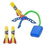 ZoneYan Juguete Cohete Aire, Air Rocket, Juguete Lanzador Cohetes, Salto Cohete, Launch Rocket, Cohete Aire, Rocket Toy, Juego Juguete Cohetes, Juguete Cohete para Niños