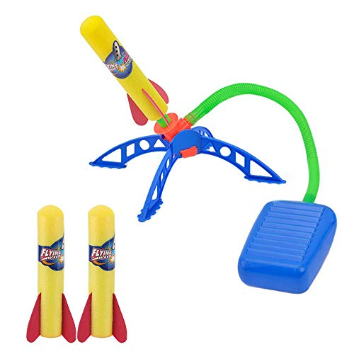 ZoneYan Kinder Rocket Spielzeug, Rocket Launcher Set, Raketen Werfer Spielzeug Set, Luft Rakete Spielzeug, Jump Rocket Set, Air Rocket Toy, Rocket Spielzeug Geschenke