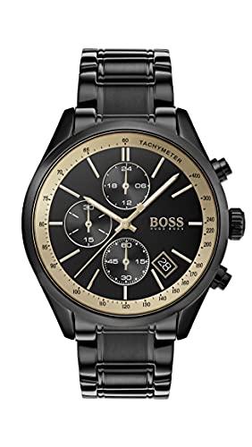 Hugo Boss Chronograph Quarz Armbanduhr mit Edelstahlarmband 1513578