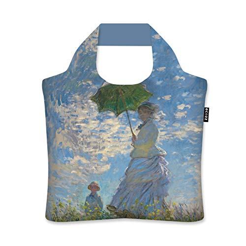 ecozz Woman with Parasol - Claude Monet - Bolsa de la compra...