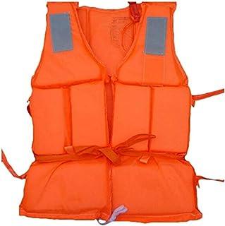 Okssud Chaleco Salvavidas Natación Chalecos de flotabilidad de Espuma Profesional de Seguridad Adulto Salvavidas de Snorkel con Silbato para Deportes Acuáticos Deriva Surf Kayak