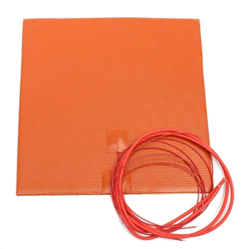 L.L.QYL 3D Printer Accessories 200W 12V 200mmx200mm Waterproof Flexible Silicone Heating Pad Heater For 3d Printer Heat Bed 3D printer accessories