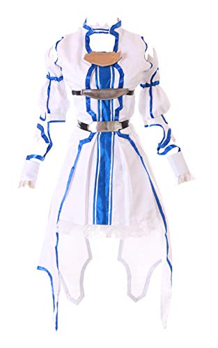 Kawaii-Story MN-85 Sword Art Online Alfheim ALO Asuna weiß Cosplay Set Elfen Kostüm (L)