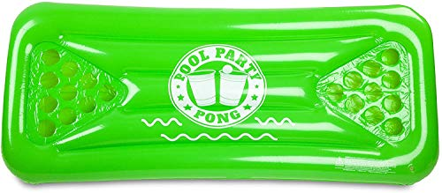 Big Mouth Toys Pool Party Pong Float, Green