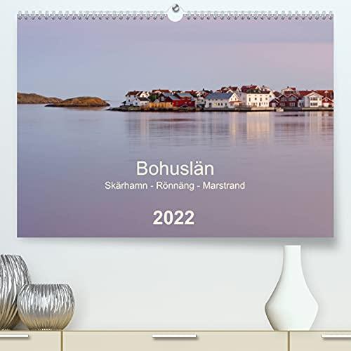 Bohuslän. Skärhamn - Rönnäng - Marstrand (Premium, hochwertiger DIN A2 Wandkalender 2022, Kunstdruck in Hochglanz): Idyllische Dörfer, zauberhafte ... Schärenküste (Monatskalender, 14 Seiten )