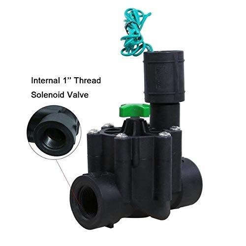BIGSTAR Sparen Sie Zeit Wassersprenkler, Industriebewässerungsventil Rasen Sprinkler24v Ac-Magnetventil-Sprenger-Controller, For10469 und 10468-Controller Innendach (Color : 1 inch)