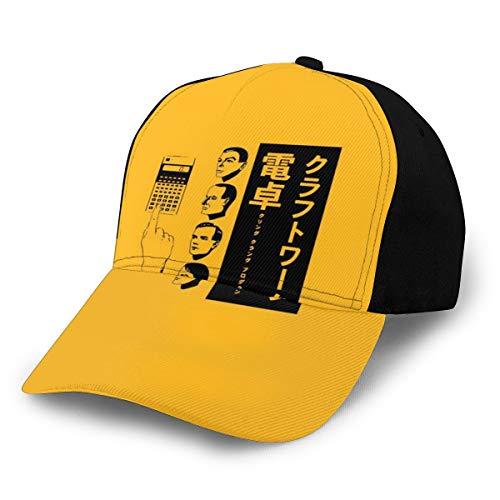 N/ Kraftwerk Taschenrechner Cap Baseballmütze Classic verstellbar schwarz