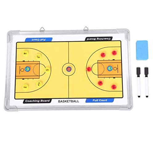 Why Should You Buy LIJIANGUO Professional Basketball Coach Board Strategy Board Magnetic Basketball ...