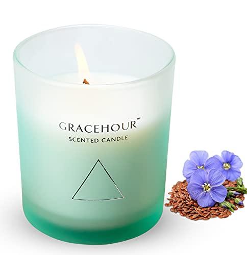 Candele profumate per la casa, 136,1 g, profumate per aromaterapia, profumate a lunga durata, candele profumate per la casa per il rilassamento dello stress, regalo per le donne