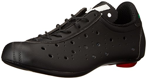 Vittoria Shoes 1976 Classic Look, Scarpe da Ciclista Unisex-Adulto, Nero, 37 EU