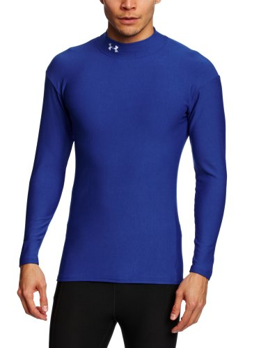 Under Armour CG Comp Mock Top de compression homme Bleu Royal XXL