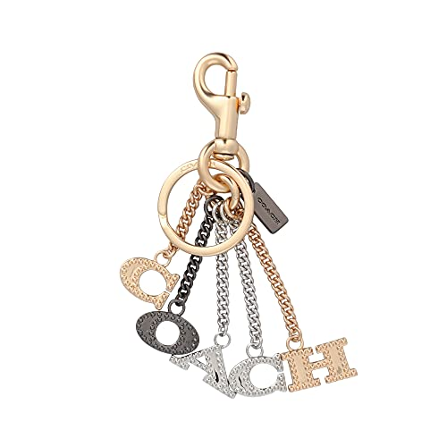 [コーチ] キーホルダー レター チャーム キーフォブ COACH Perforated Letters Charm Key Fob 91474 IML38 [並行輸入品]