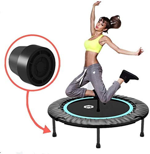 LKFSNGB Fitness Trampolin With Detachable Rod And Durable Adult Aerobic Training Equipment Suitable For Indoor And Outdoor Garden Fitness Weight Loss