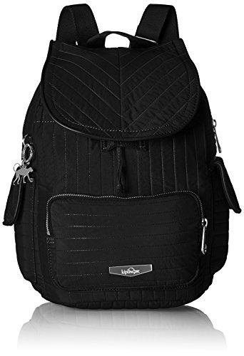Kipling Damen City Pack S Rucksack, Schwarz (Bold Black), 27x33.5x19 cm
