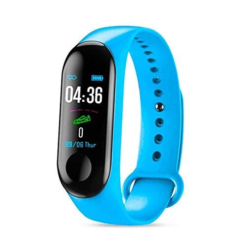 73JohnPol Smart Band Reloj Pulsera Rastreador de Ejercicios Podómetro Monitor de Ritmo cardíaco Pulsera Impermeable