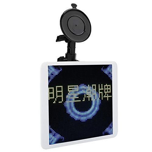 sjlerst Car Monitor Full Color 30W Feste Saugnapfhalterung für Automobilunterhaltung(WiFi Version)