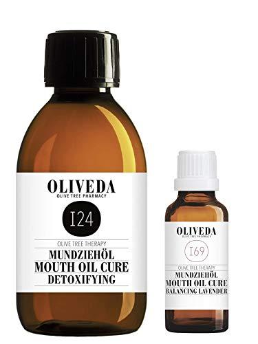 Oliveda I24 Mundziehöl 200ml + I69 Lavendel 30ml zum Testen