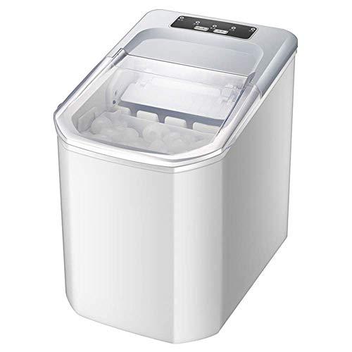 Máquina para hacer hielo portátil para encimera, hace 35 libras de hielo por 24 horas, cubos de hielo listos en 8 minutos