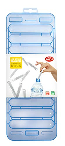 Snips Ice Cube Tray Mold for Water Bottles, One Size, Blue or Yellow