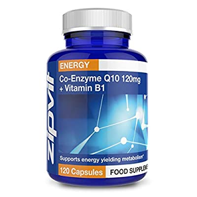 Co-Enzyme Q10 120mg, Pack of 120 Softgels, by Zipvit Vitamins Minerals & Supplements from Zipvit