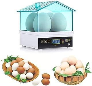Mini Egg incubator, Household 4 Eggs Incubator Hatching Machine Automatic Temperature Control Hatcher, Children observe an...