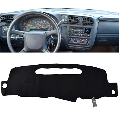 XUKEY Dashboard Cover for Chevrolet Blazer Mini S10 Pickup 1998-2004 Dash Cover Mat