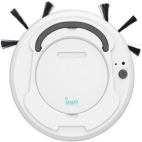 Affordable 1800Pa Multifunctional Robot Vacuum Cleaner, 3-in-1 Auto Rechargeable Smart Sweeping Robo...
