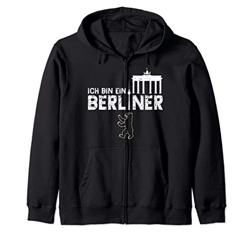 Ich Bin Ein Berliner - Berlin Kapuzenjacke