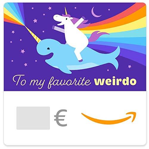 Digitaler Amazon.de Gutschein (Favorite Weirdo)