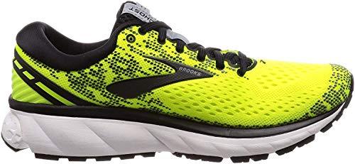 Brooks Ghost 11, Zapatillas de Running para Hombre, Amarillo (Nightlife/Black/White 795), 46 EU