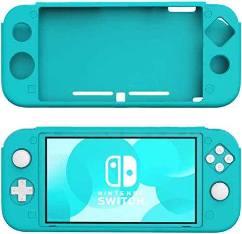 Nintendo Switch Lite ケース ATiC Switchライト カバー シリコン ニンテンドー スイッチライト ケース 柔らかい 耐衝撃 落下防止 防塵 アンチスクラッチ 高品質 滑り止め 人間工学 高い操作性 手触り良い ソフト 着脱簡単 軽量 Turquoise