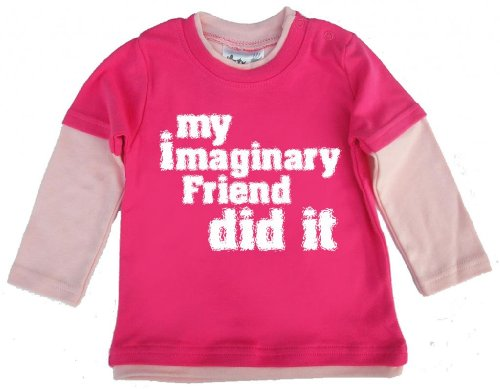 Dirty Fingers Imaginary My Friend-t-il, boutique - Rose - XS