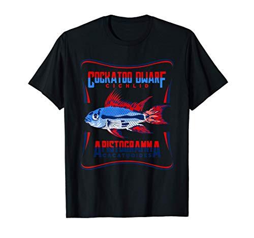 Zwergbuntbarsch Aquarium Zierfisch Apistogramma Aquarianer T-Shirt