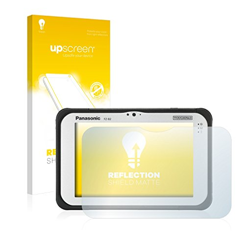 upscreen Entspiegelungs-Schutzfolie kompatibel mit Panasonic Toughpad FZ-B2 – Anti-Reflex Bildschirmschutz-Folie Matt