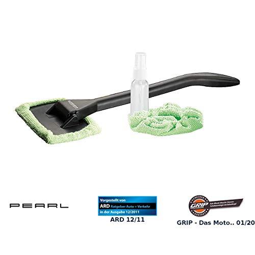PEARL Scheibenreiniger Auto: Windschutzscheiben-Wunder mit Gelenk-Kopf und Pump-Sprühflasche (Frontscheiben Reinigungsgerät)