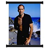 Nicolas Cage Sexy Fabric Wall Scroll Poster (16