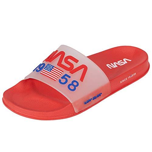 IFARADAY Slides Sandal NASA for Men Red