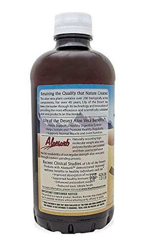 Lily of the Desert Aloe Vera Juice 32 oz (Packs of 2)