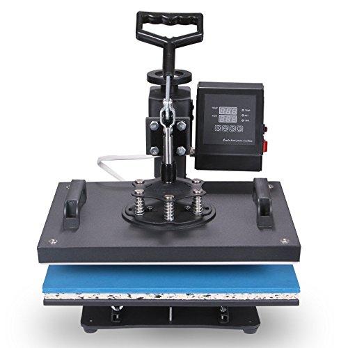 Lartuer Transferpresse Tassenpresse Textilpresse T Shirtpresse Heat Press Machine 8 in 1 Mulitifunktional Sublimation 360-Grad-Drehung (8IN1) - 2