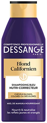 Dessange Shampoing Bleu Nutri-Correcteur Blond Californien 1 Unité - 250 ml