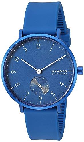 Skagen Aaren Kulor Blue Silicone 36mm Watch SKW2817