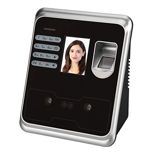 WSY Intelligente Gesichtserkennung Recorder, 2,4-Zoll-TFT-LCD-Bildschirm Gesicht Fingerabdruck Passwort Zeiterfassung Uhr Mitarbeiter Check-In Recorder