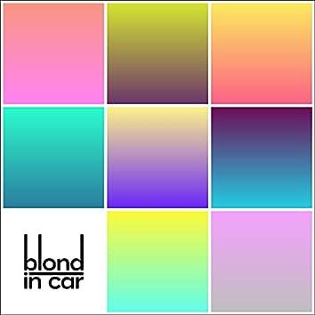 Blond in Car